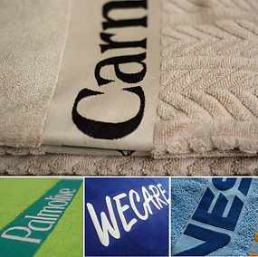 Full custom made Jacquard woven TOWELS 3