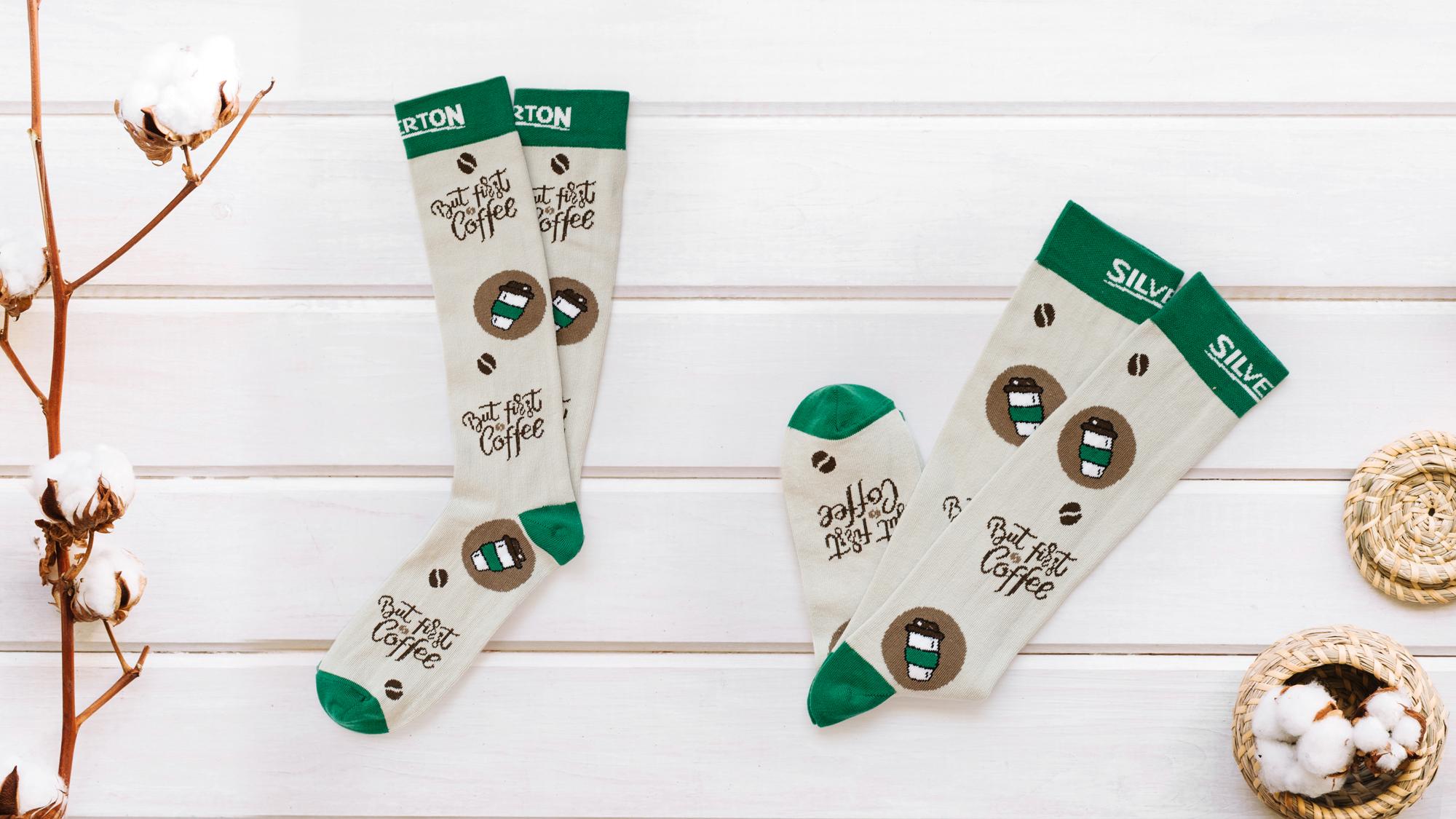 Mid Calf knitted socks (1)