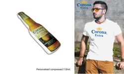 Corona compressed T Shirt