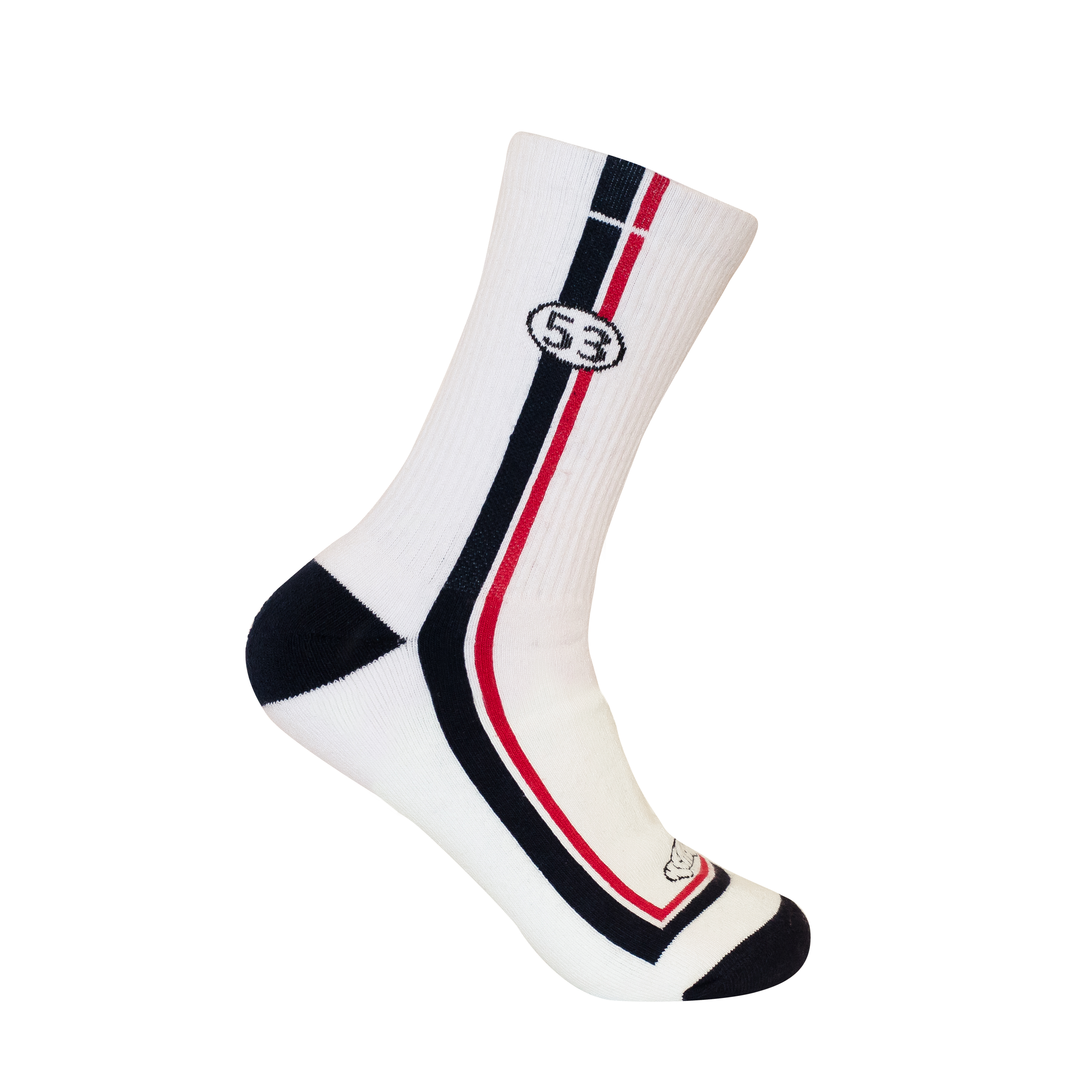 KS04 ECO UPCYCLED SPORTS CREW SOCKS