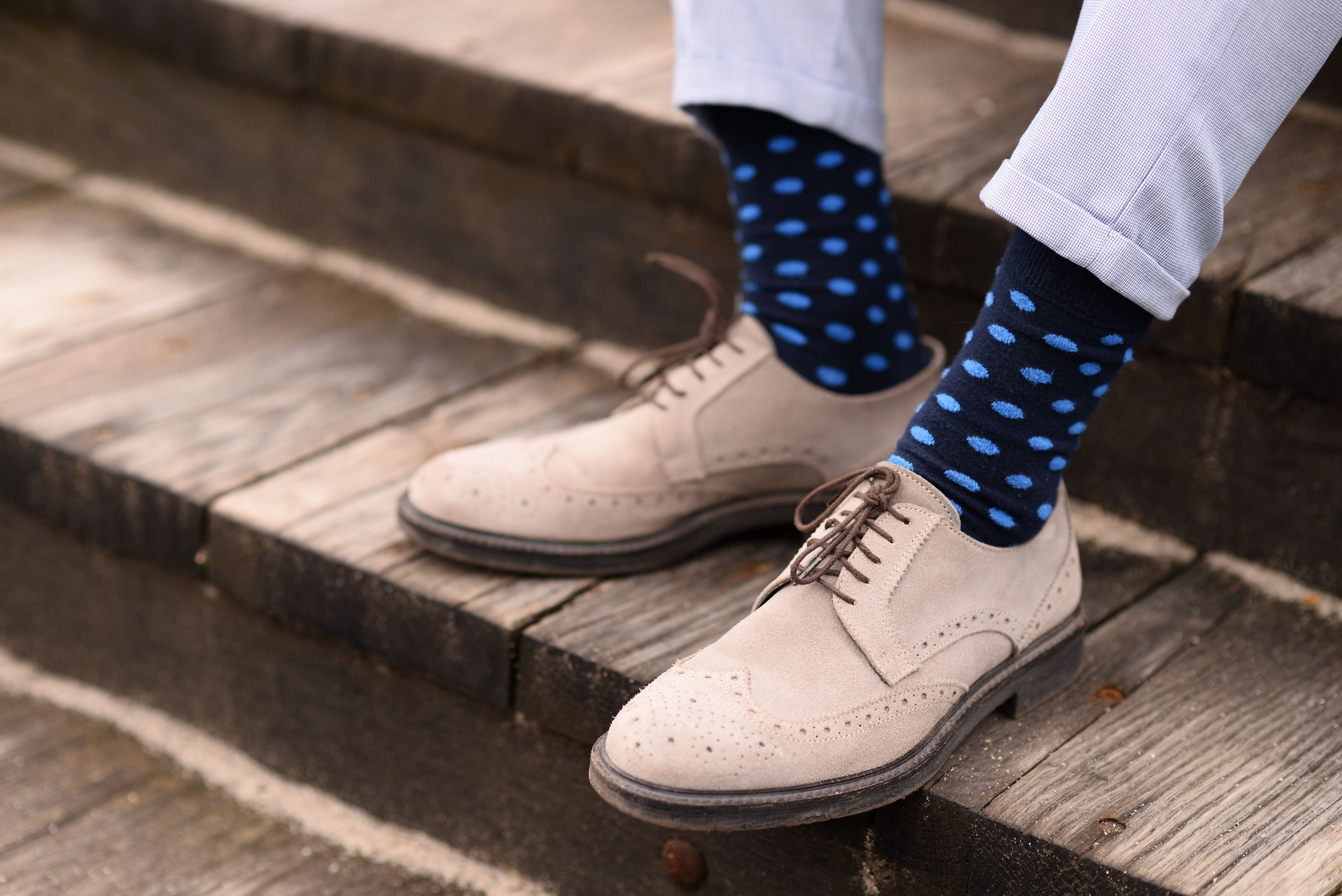 Knitted dress socks Crew Classic