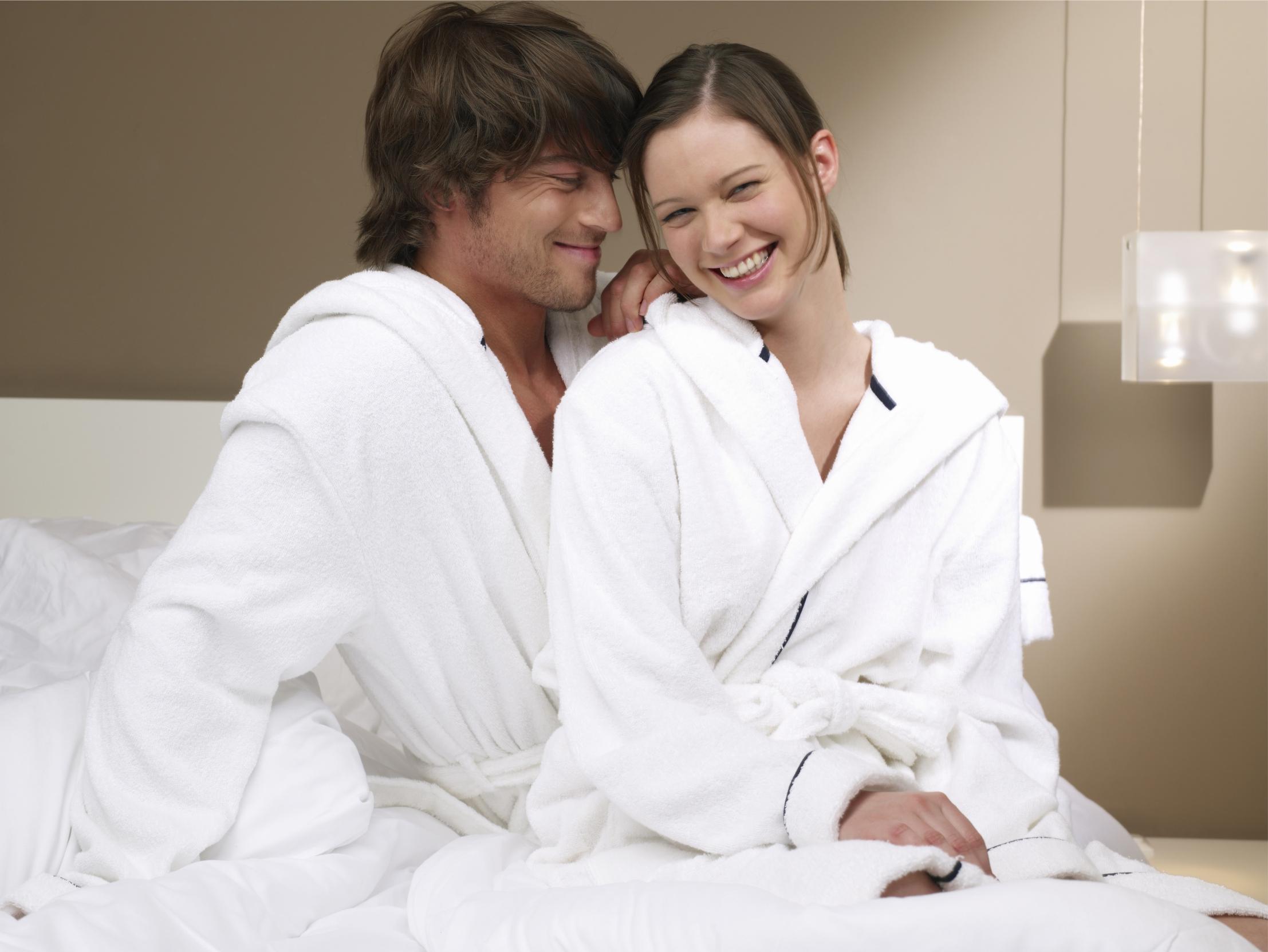 Hotel bathrobes by Kingly.