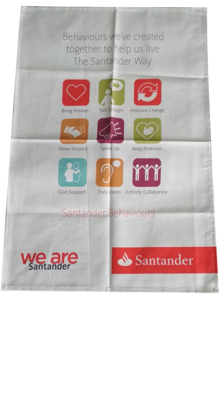 Printed tea towels (3)