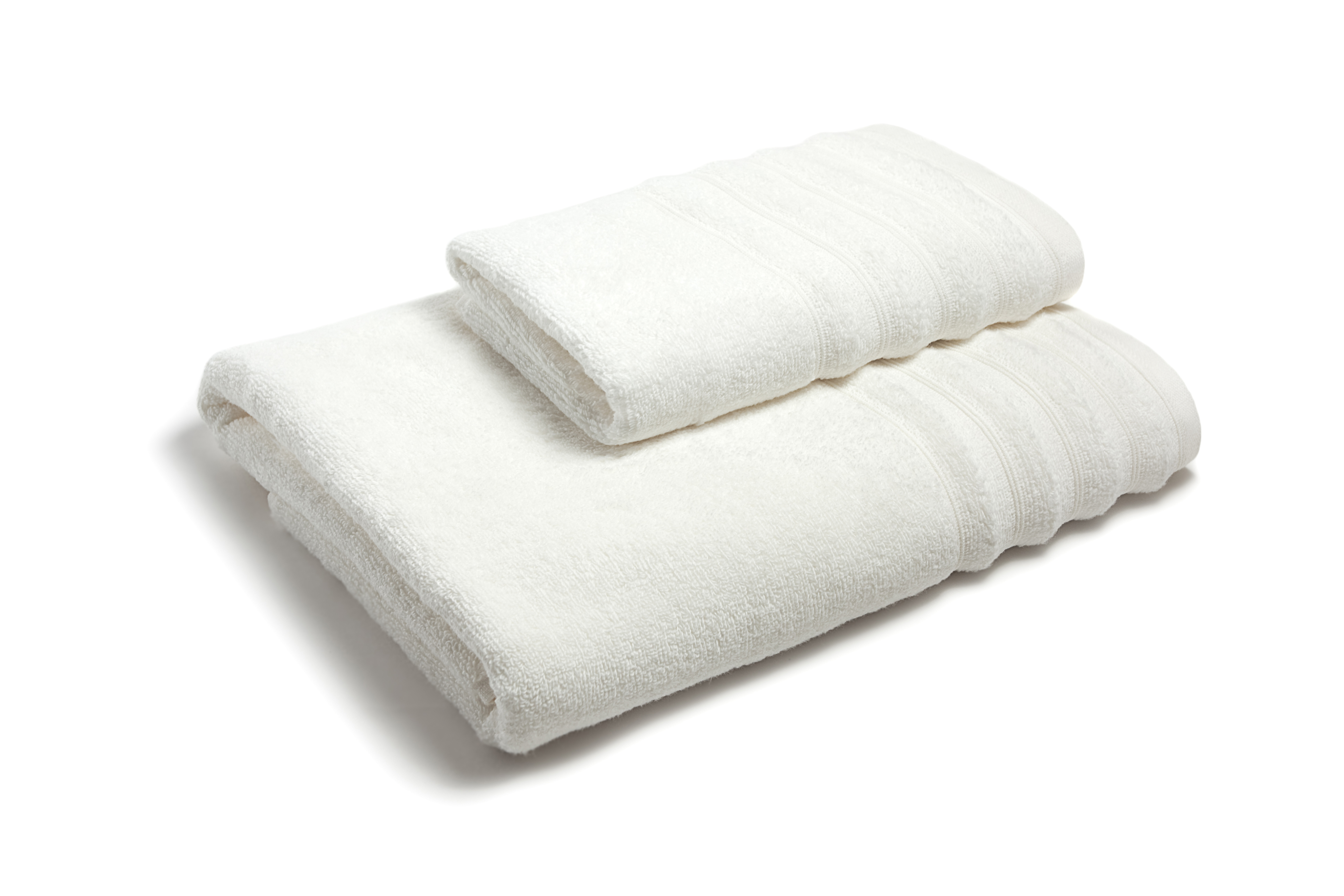 Zero twisted hotel towel with border