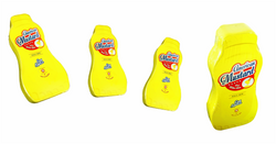 Compressed T Shirt mustard bottle 3