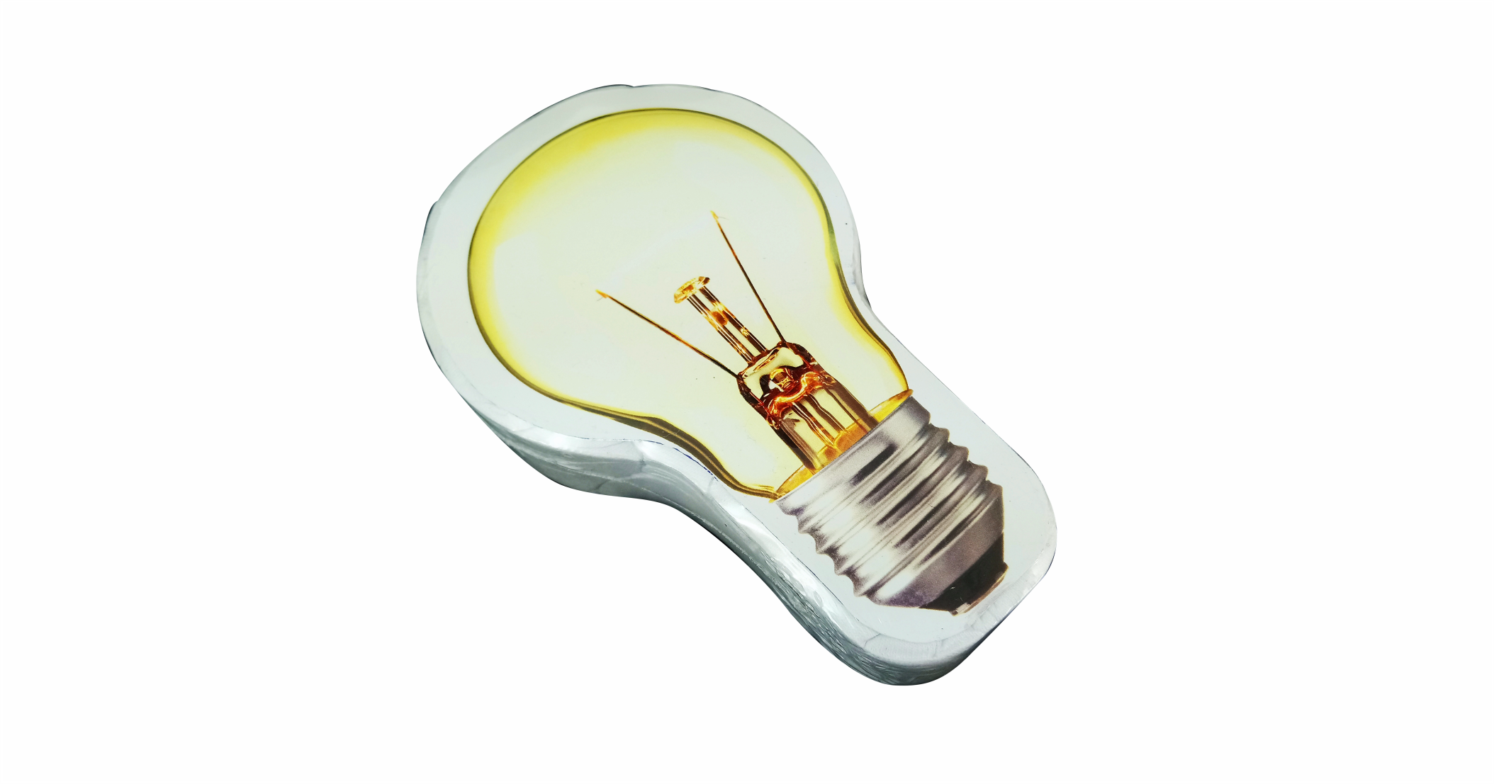 Compressed T Shirt light bulb 2