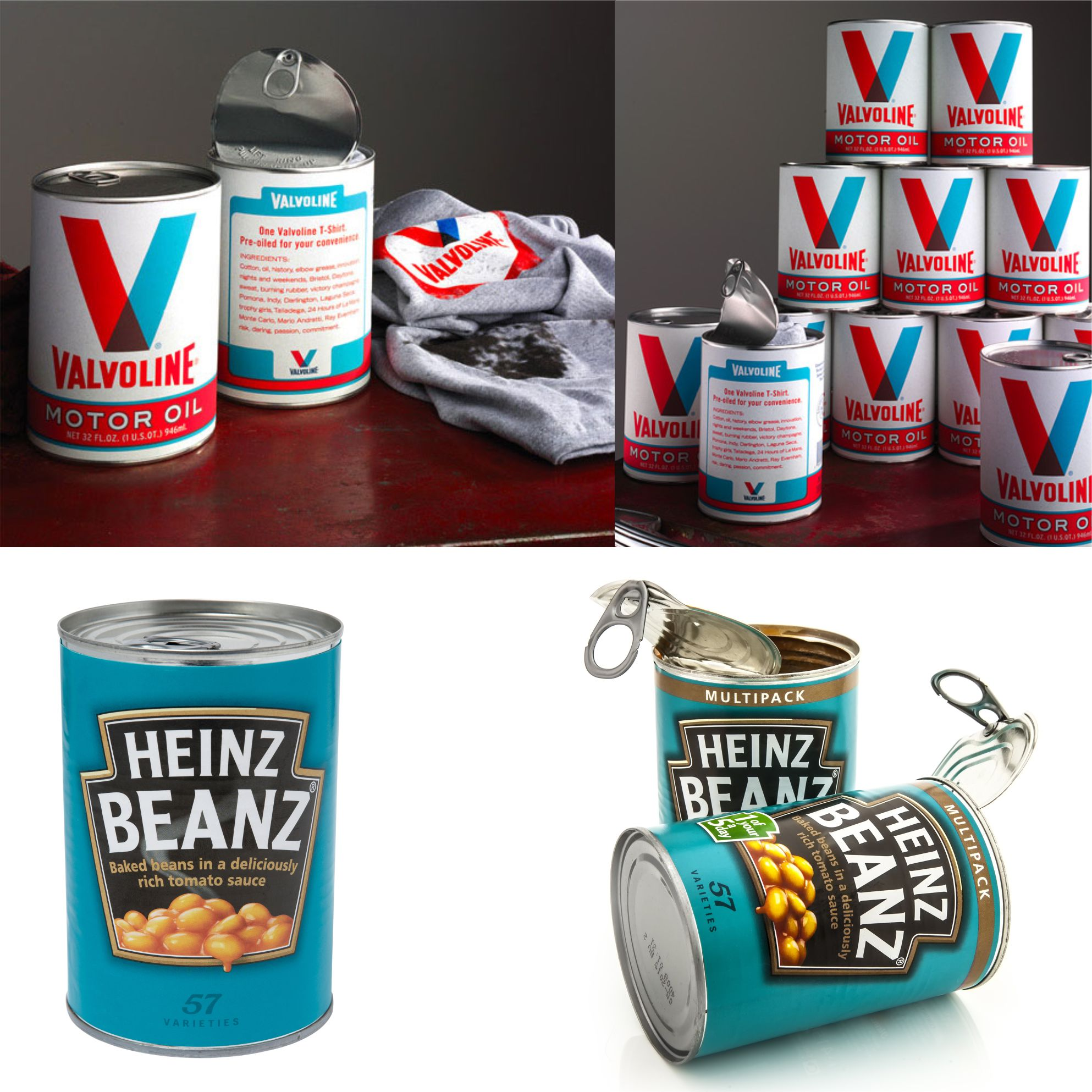 Promotional tin packaging
