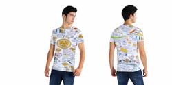 Creative T Shirt printing ALL OVER PRINT