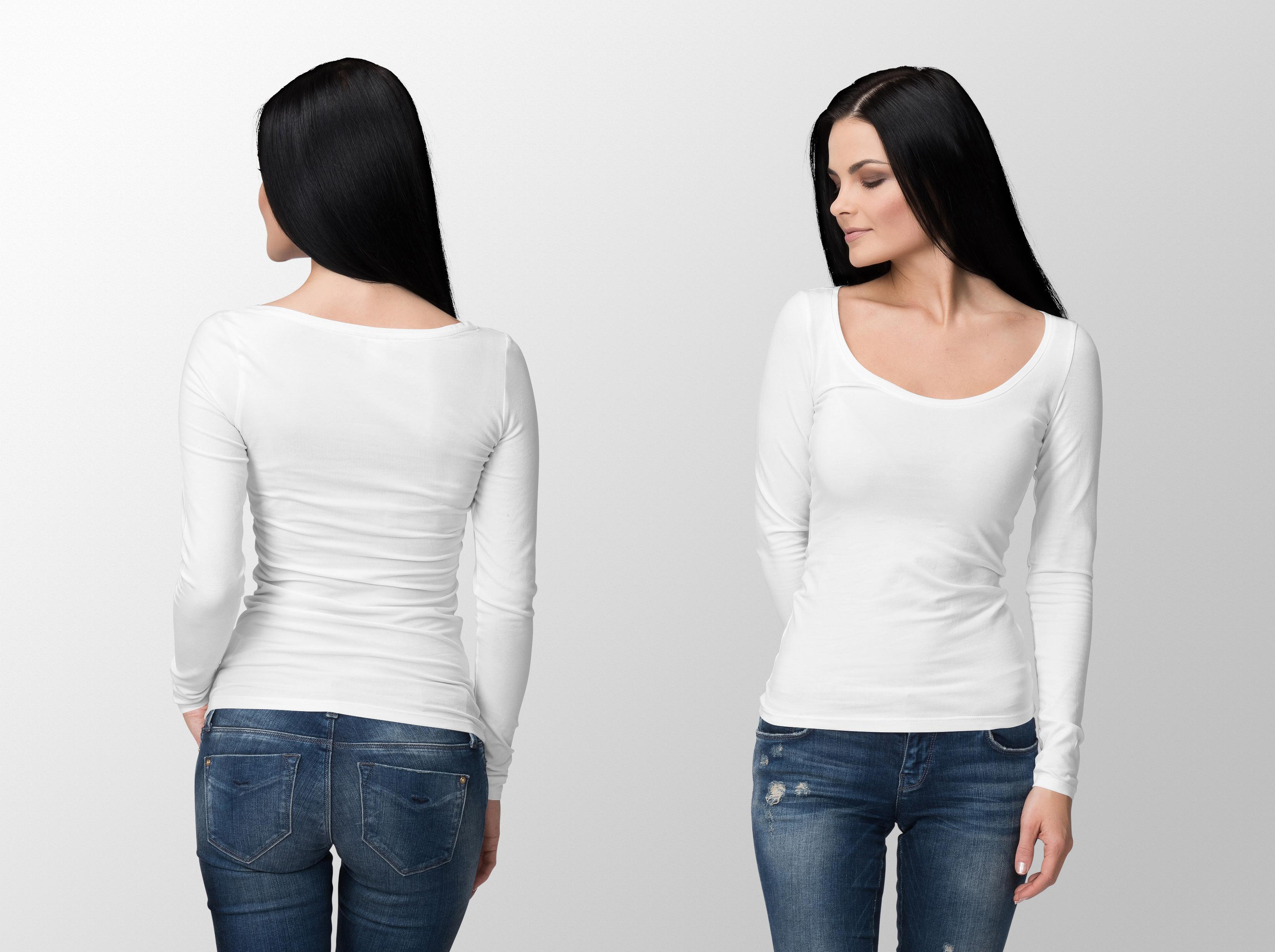 Custom made ladies T-Shirts (3)