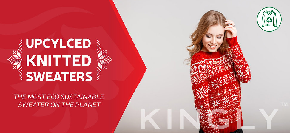 KINGLY UPCYLCED KNITTED SWEATERS THE MOS