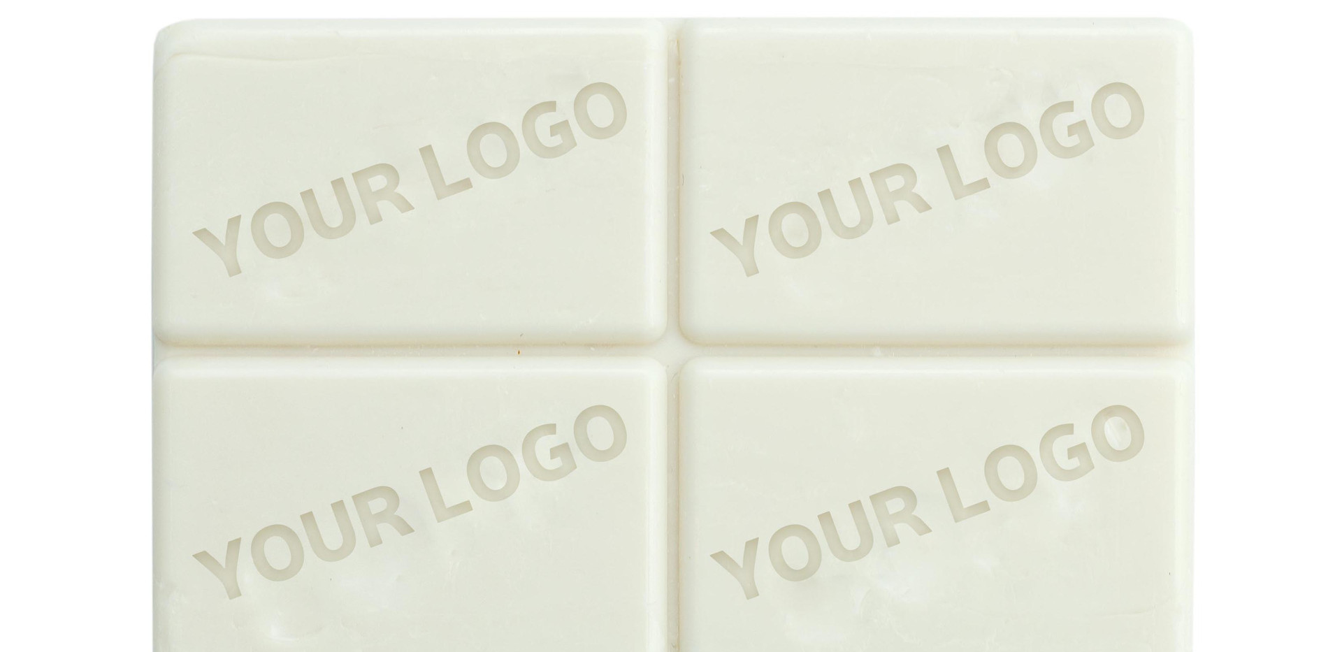 SP01 SHAPED SOAP BARS-CUSTOM EMBOSSED LO