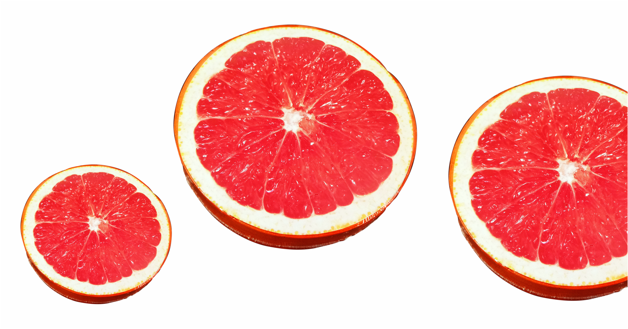 Compressed T Shirt grapefruit