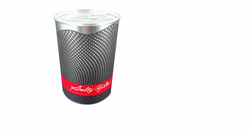 TIN PACKAGING Tins with hermetic ring pu