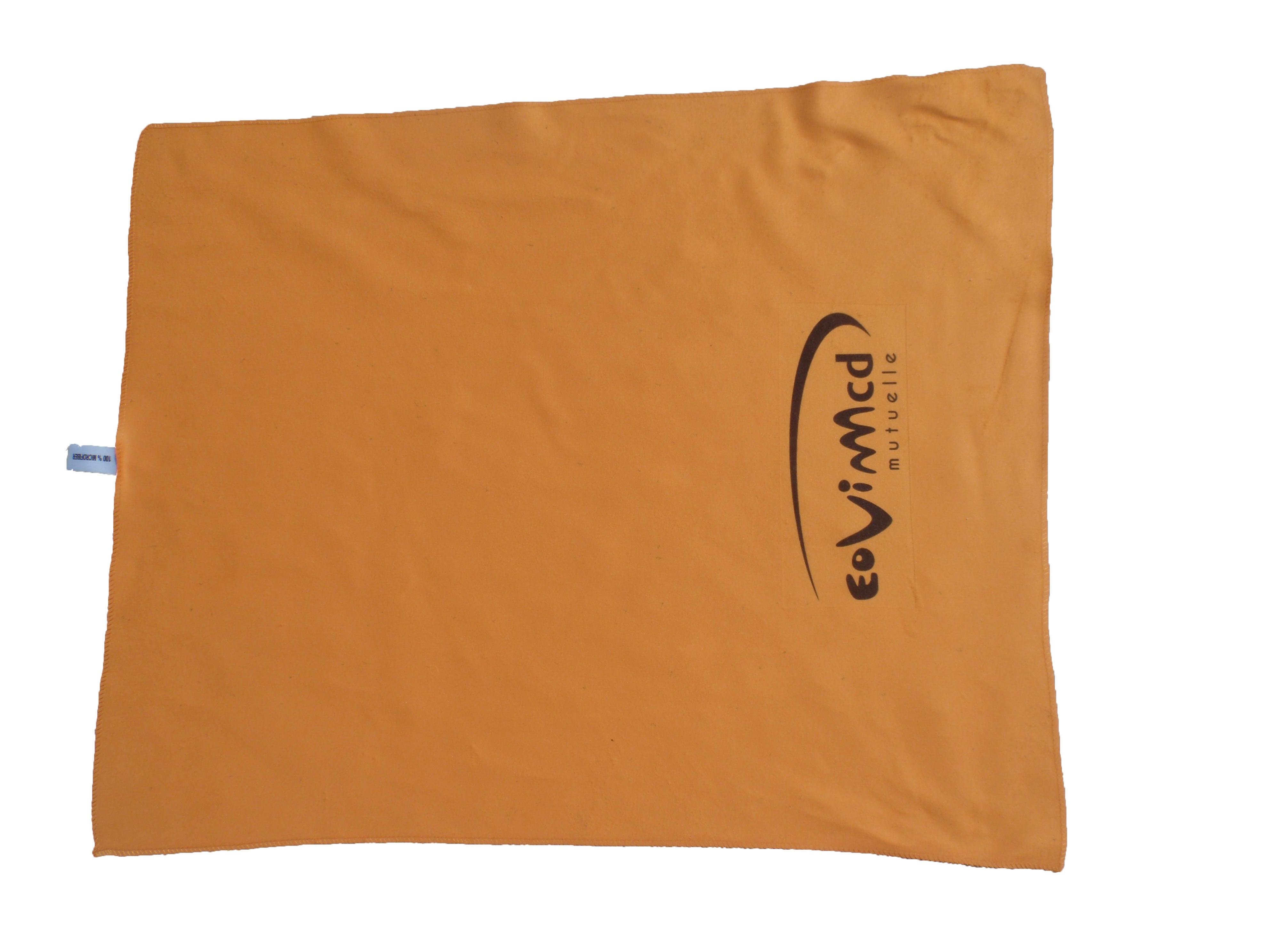 Microfiber printed towels