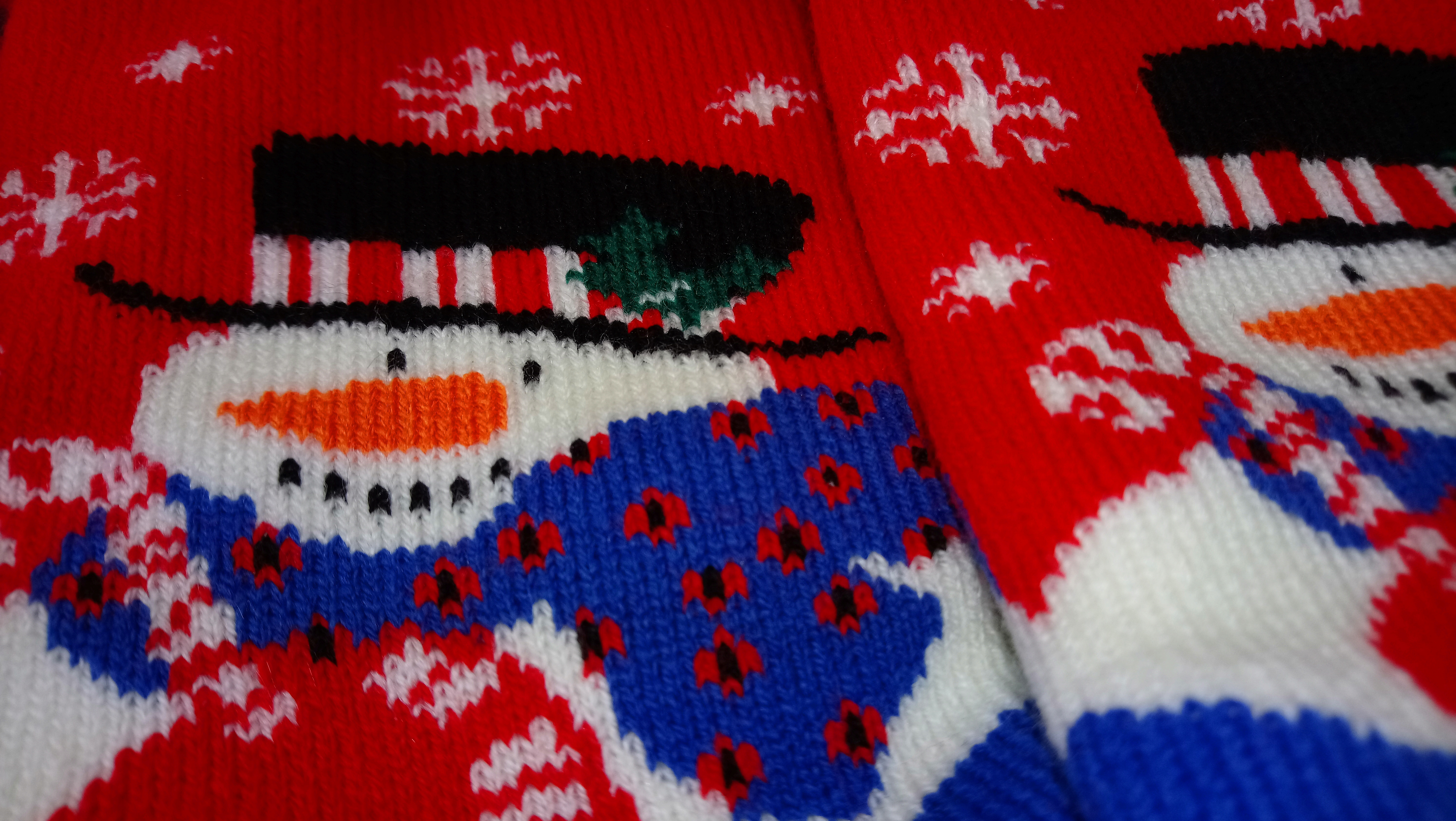 Ultra thick Christmas Socks (1)