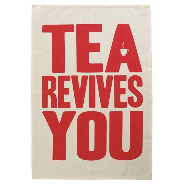 Standard promo tea towel