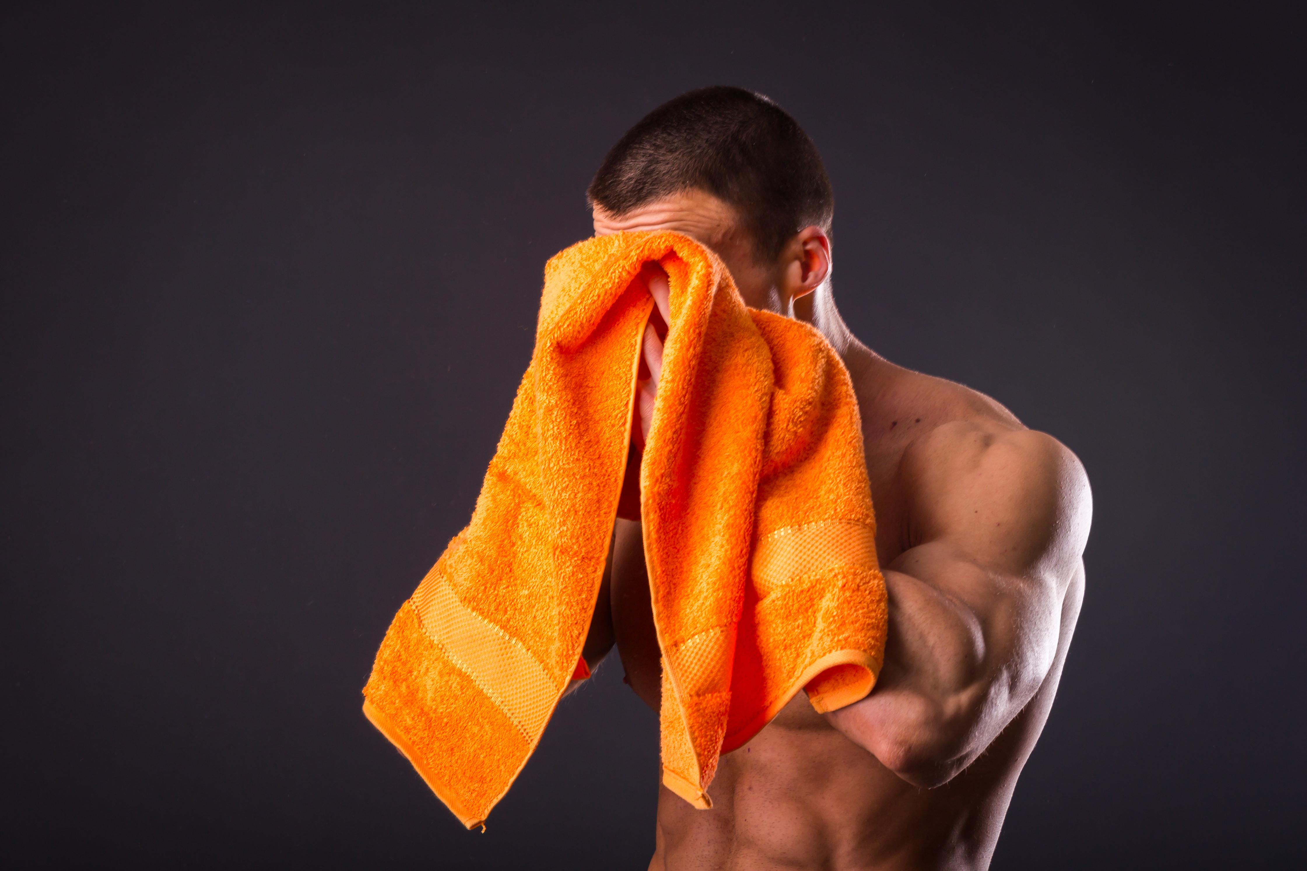 Plain dyed sports towels