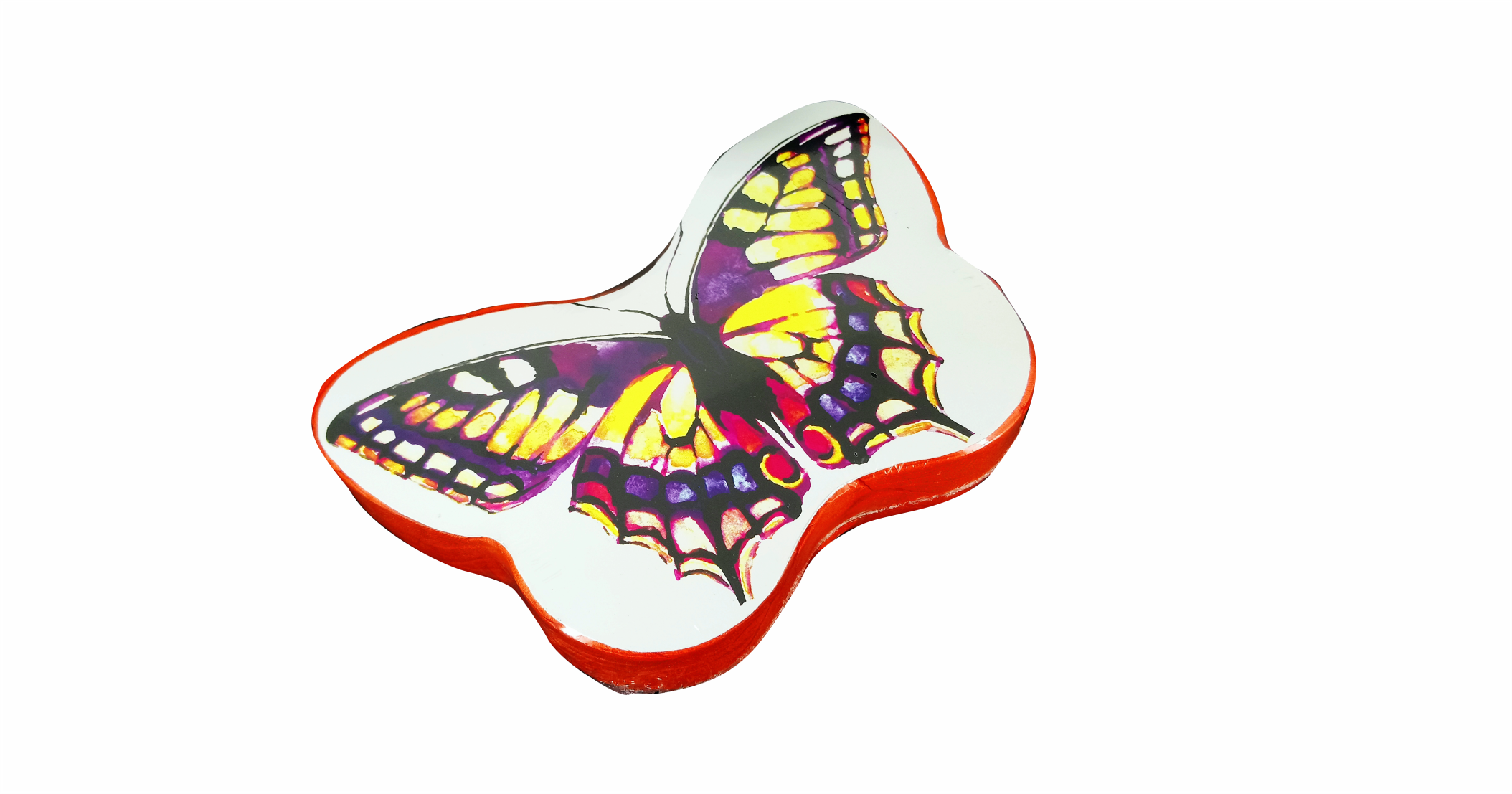 Compressed T Shirt butterfly