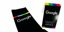 Knitted Crew socks Google 6