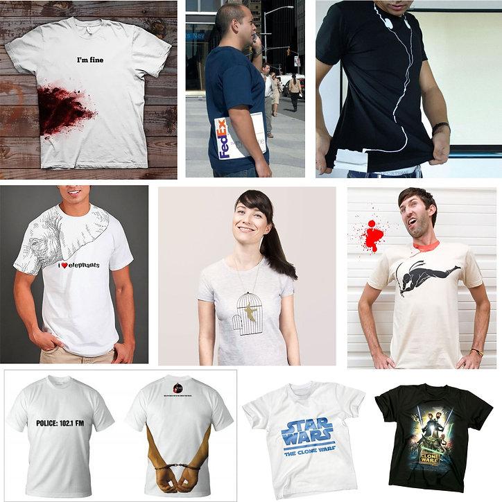 Camisetas impresas