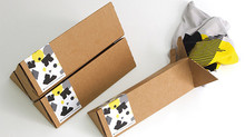 Hot new promotional product for 2017: T-Shirts in custom die cut boxes! By Kingly.