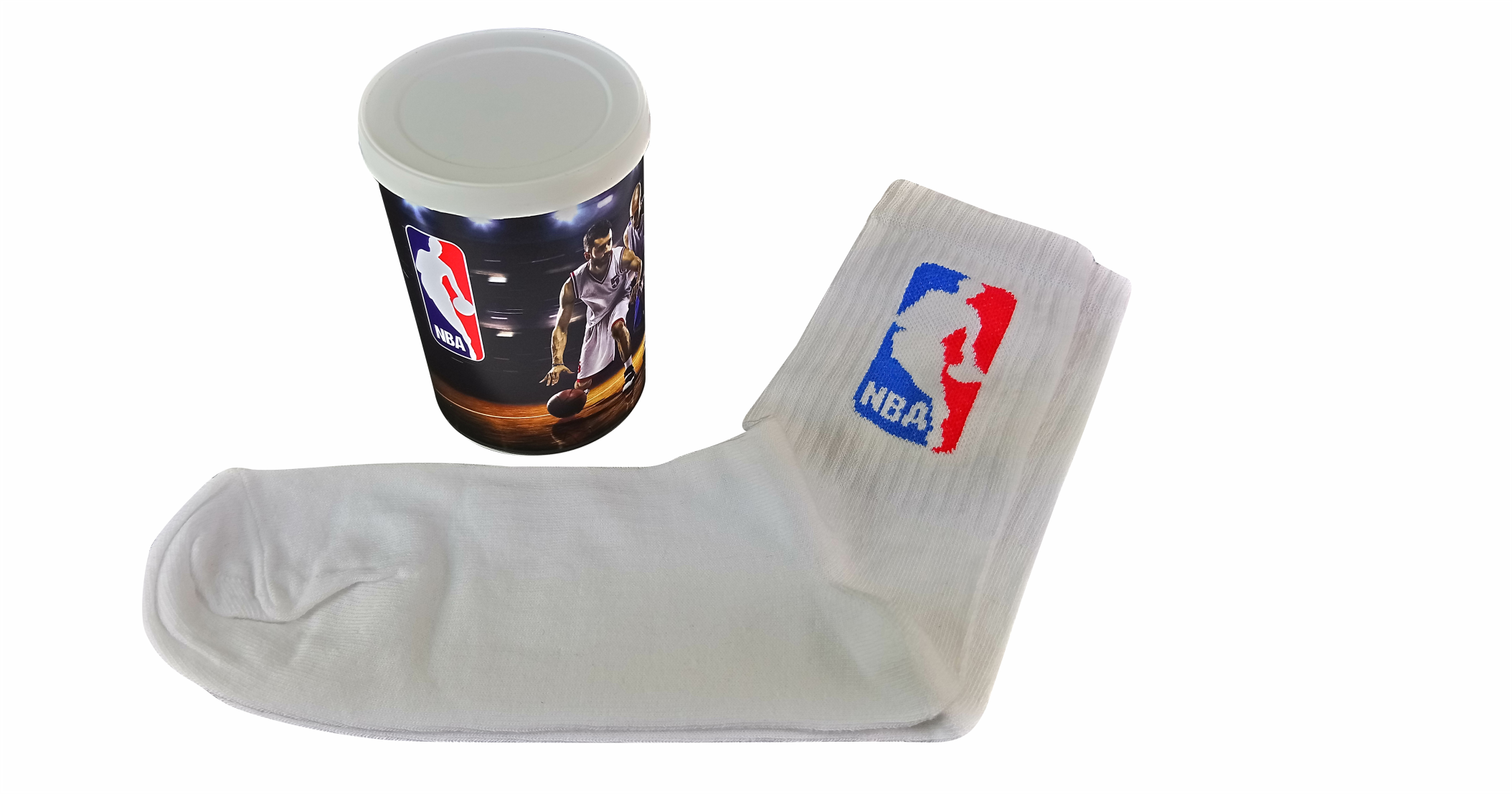 TIN PACKAGING Socks in tins with easy pu