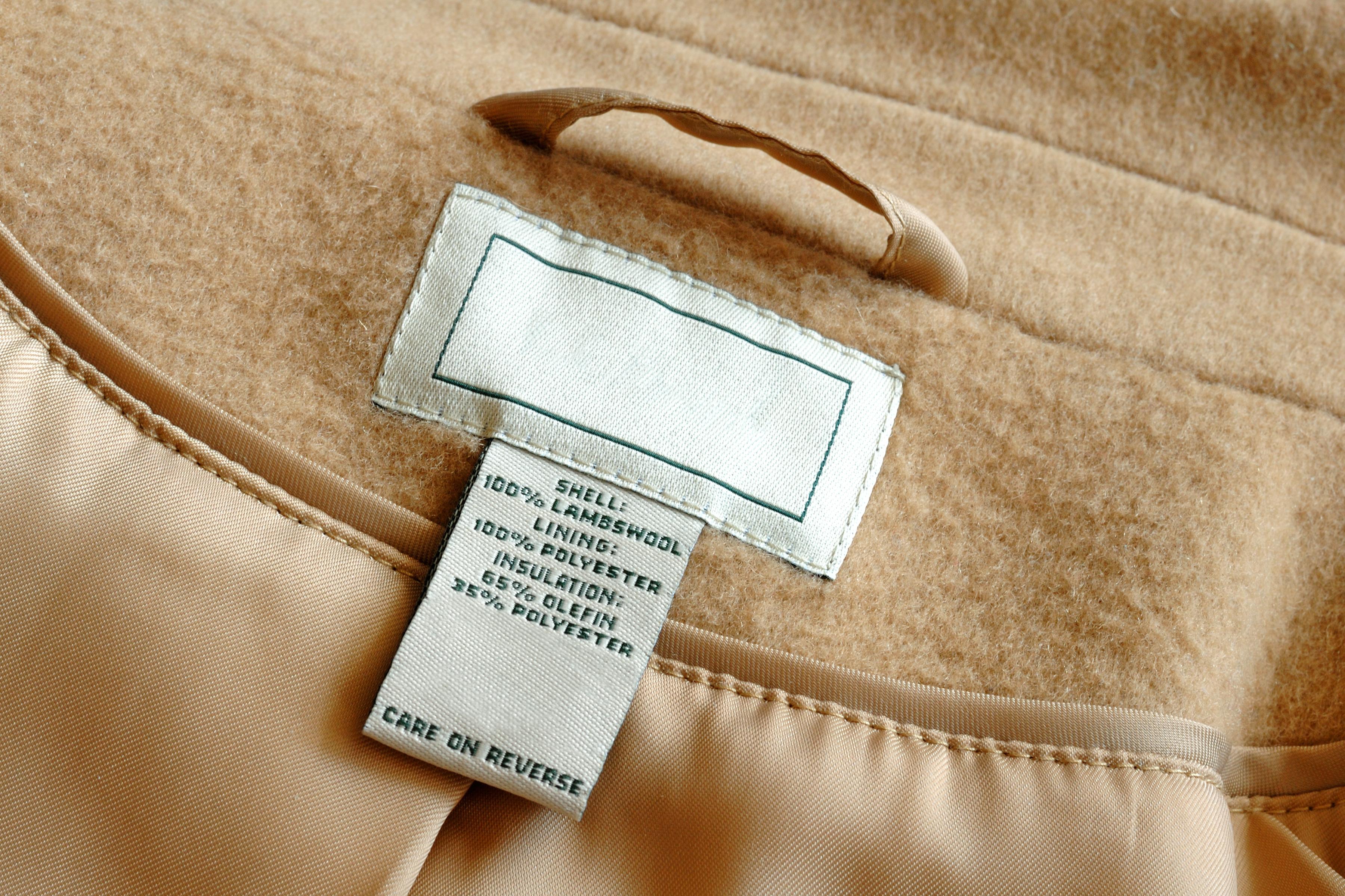 Custom made labels