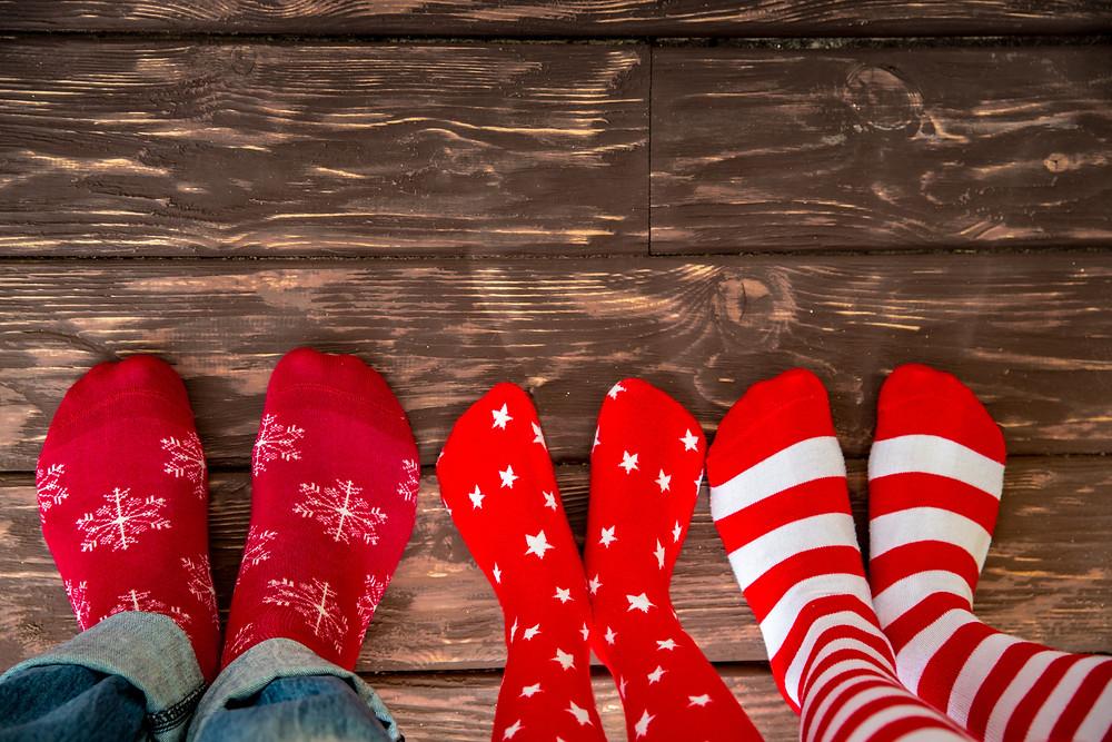 Calcetines para navidad. Fabricado por KINGLY