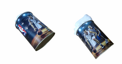 TIN PACKAGING towels with hermetic ring