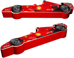 Ferrari 3D layout prior to the real mould being made