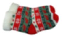 knitted winter socks