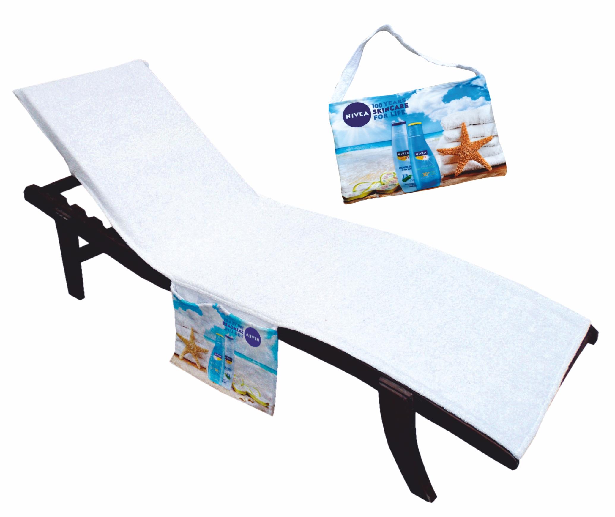 Printed Lounge towel and bag