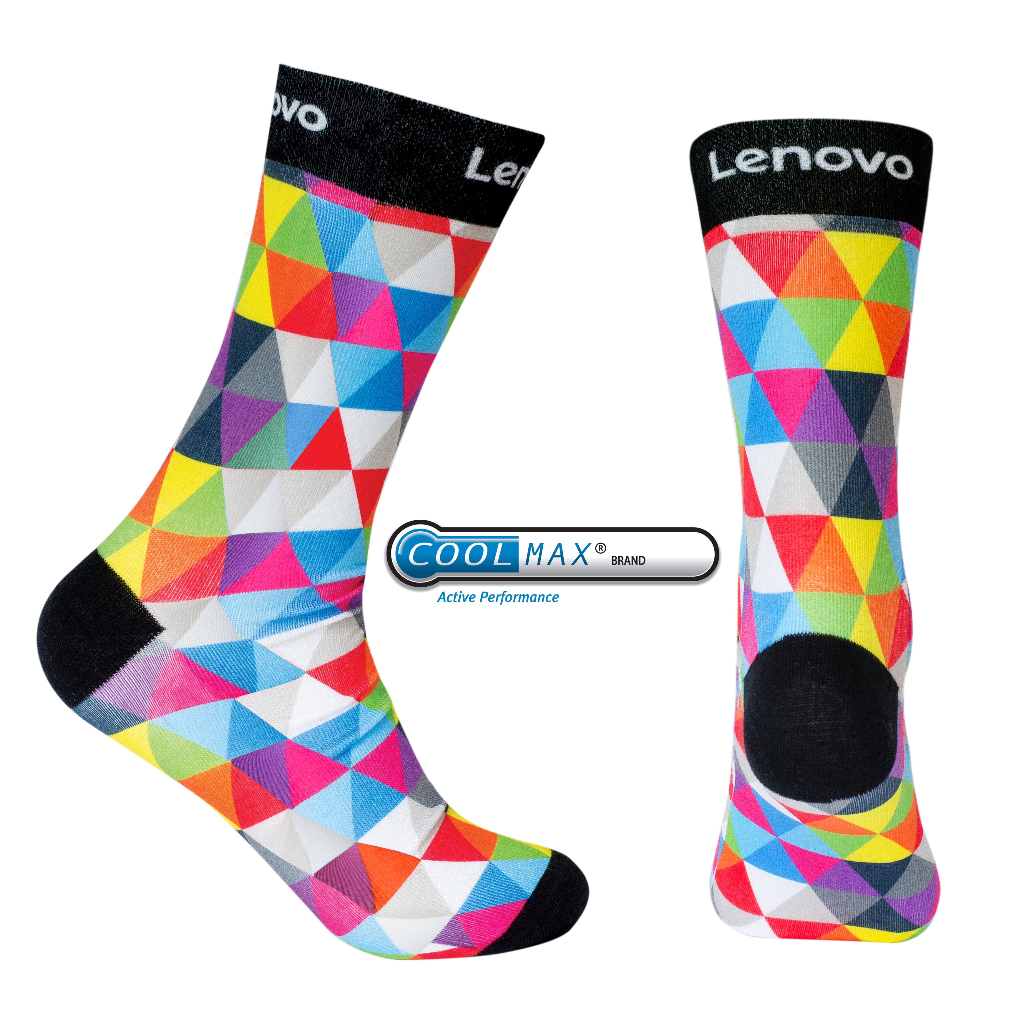 Printed Coolmax socks