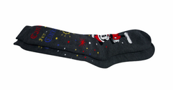 Knitted winter thermal socks
