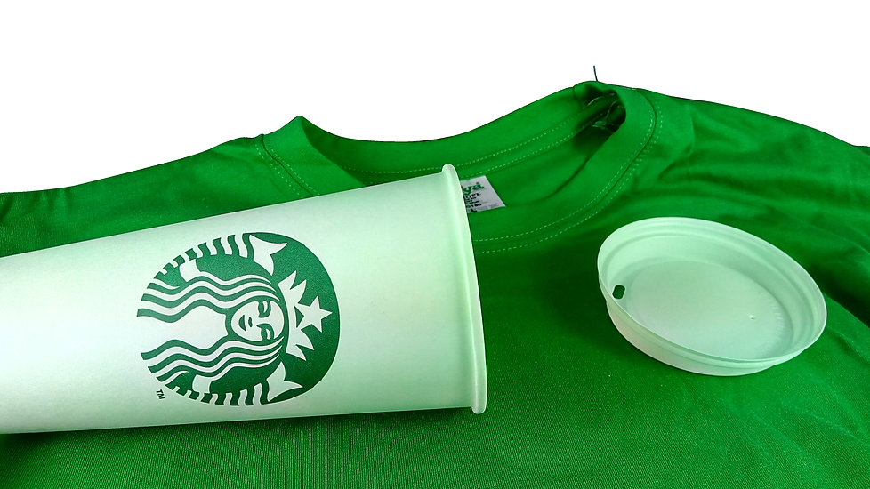Personalized T-Shirt in a cup!
