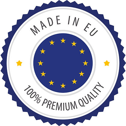 Produced by Kingly in Europe to the highest quality standards.