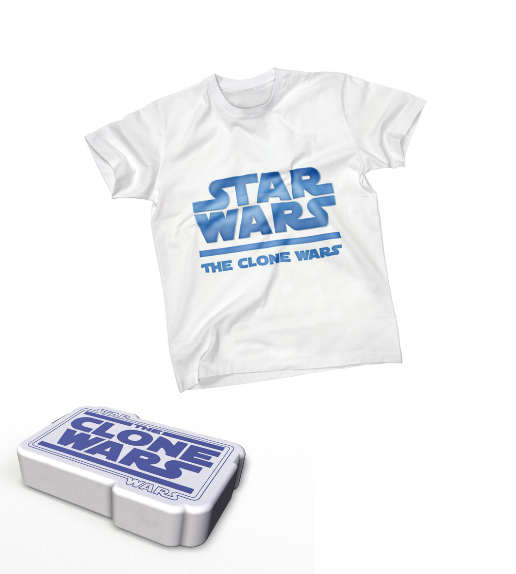 Simulatiion Star Wars white t-shirt