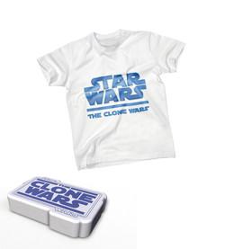 Simulatiion Star Wars white t-shirt