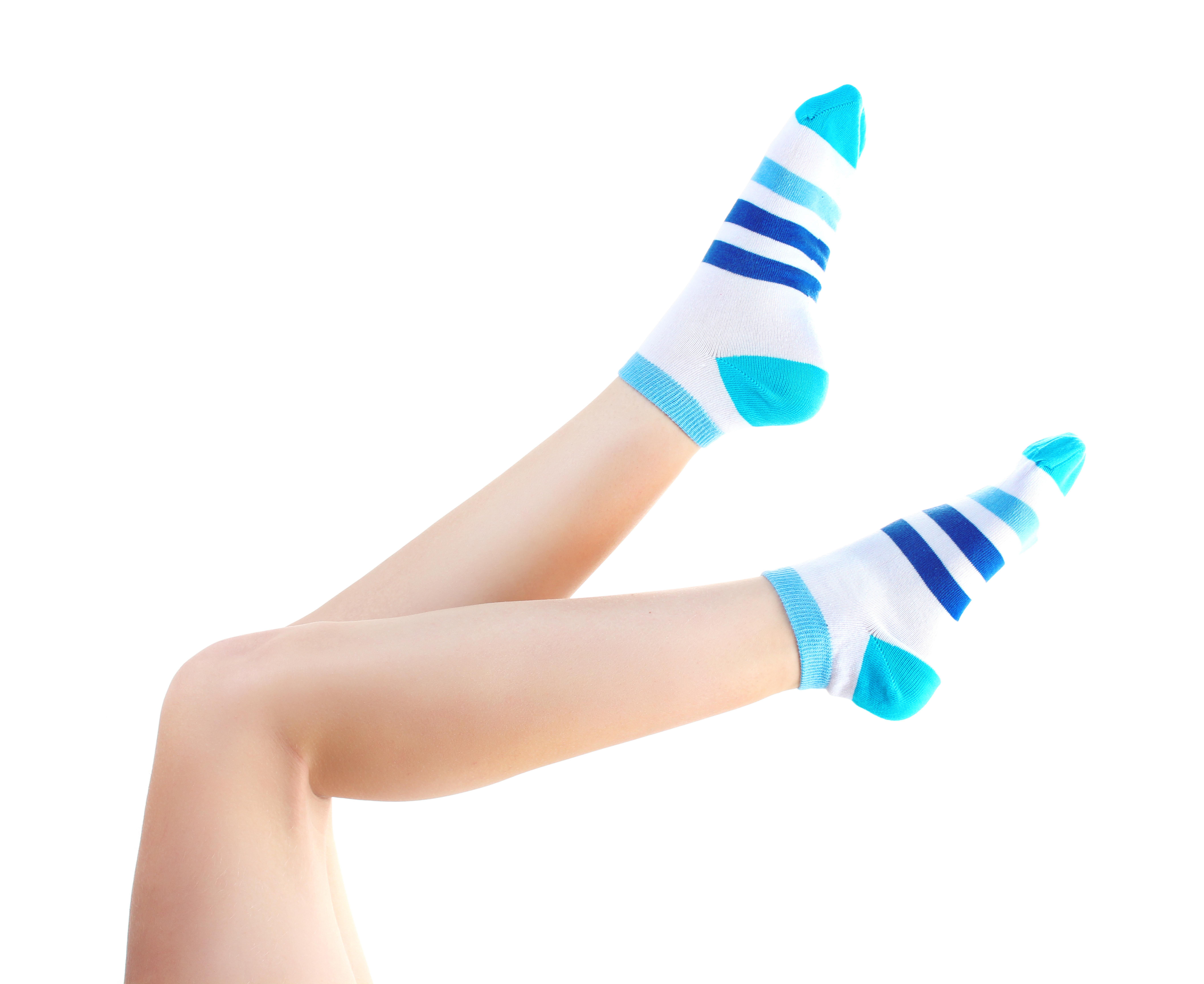 For her socks
