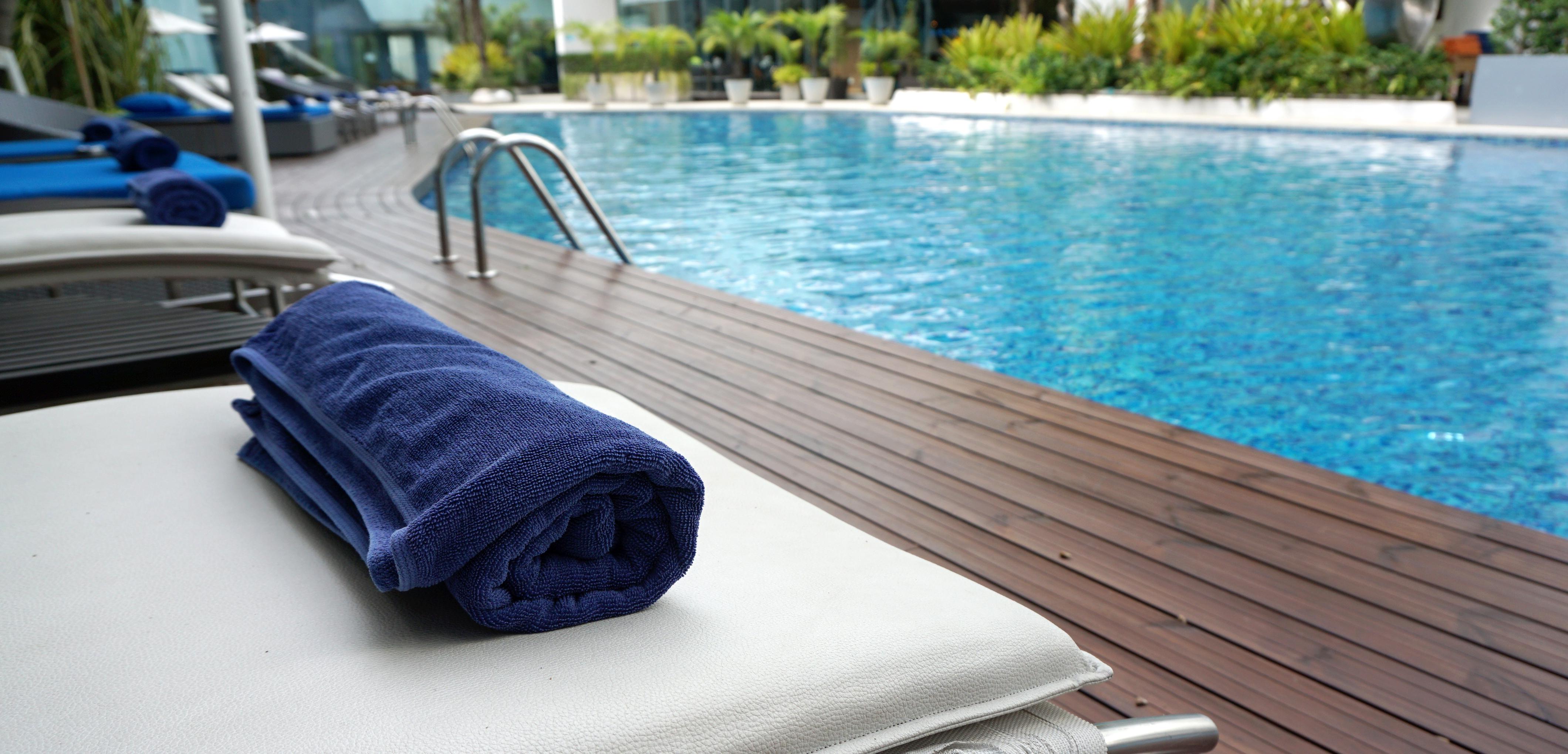 Resort towel.