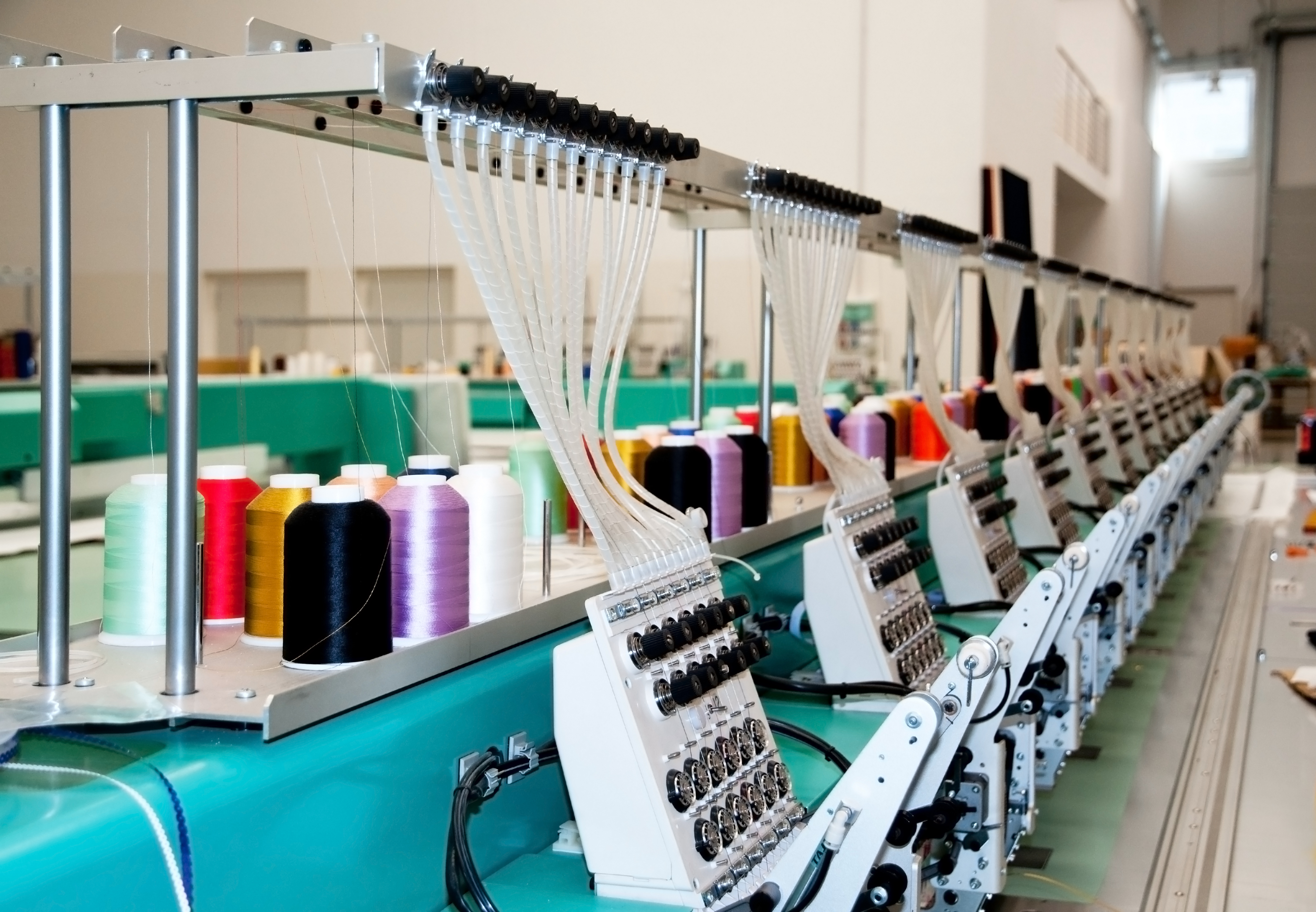 Kimgly embroidery production.