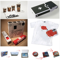 Creative T-Shirt and Towel packaging 2