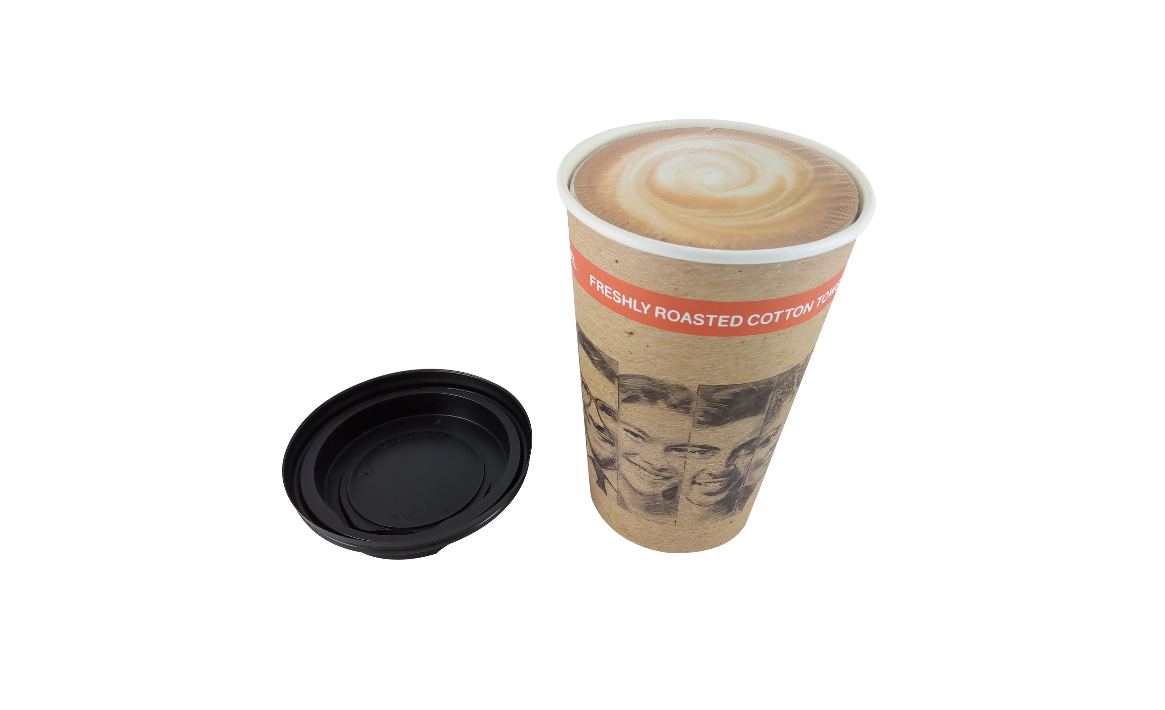 Toalla personalizada en una taza