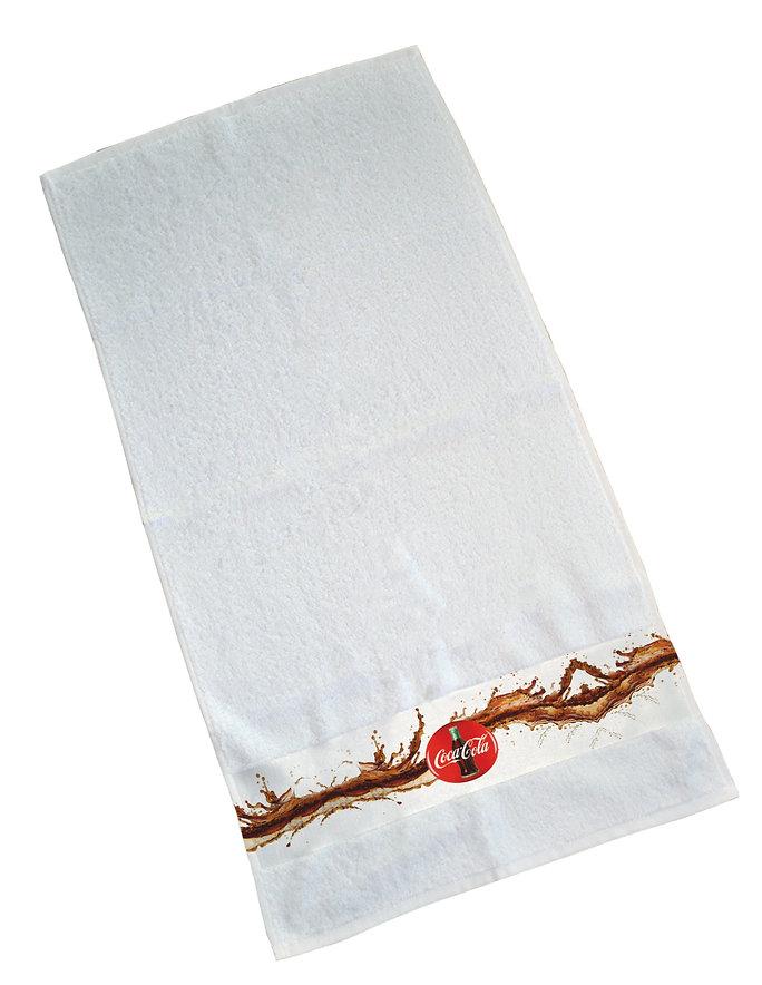toalla con cenefa personalizada