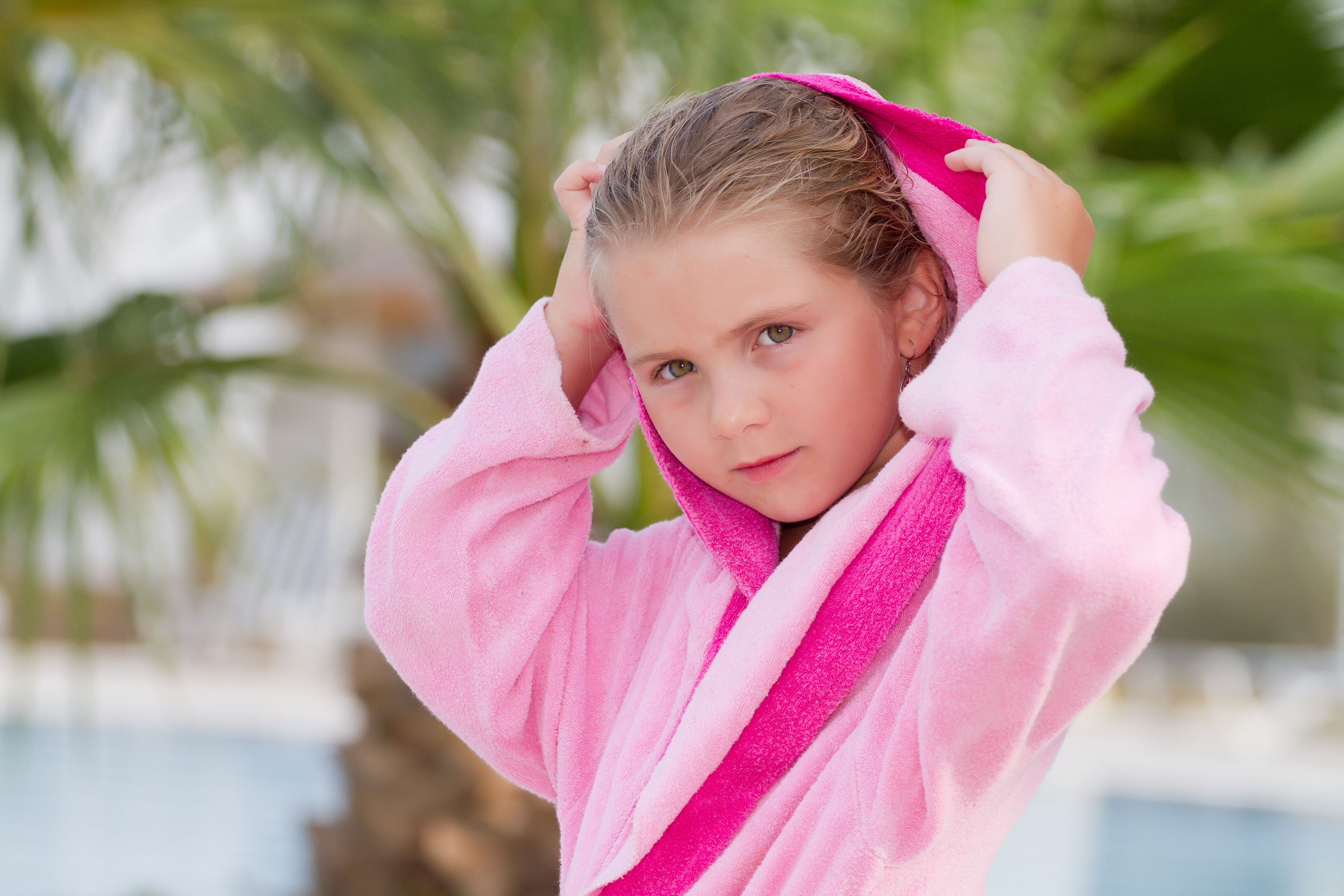 Hooded Kids Bathrobes by KINGLY