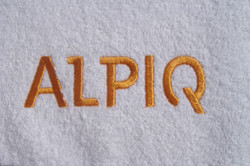 Embroidery on towels 6