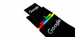 Knitted Crew socks Google 8