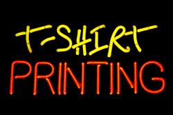 T-Shirt printing.
