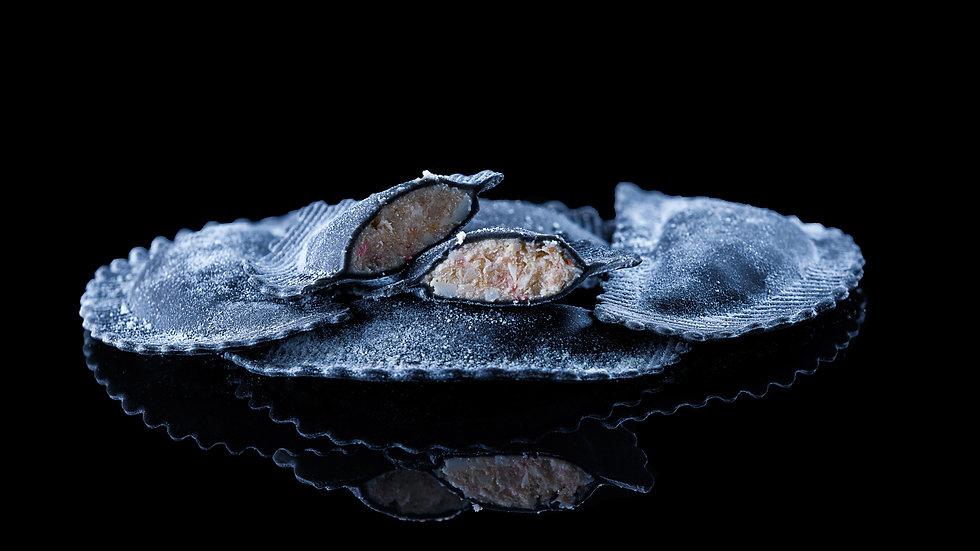 Salmon, Crescenza & Arugula Medallion