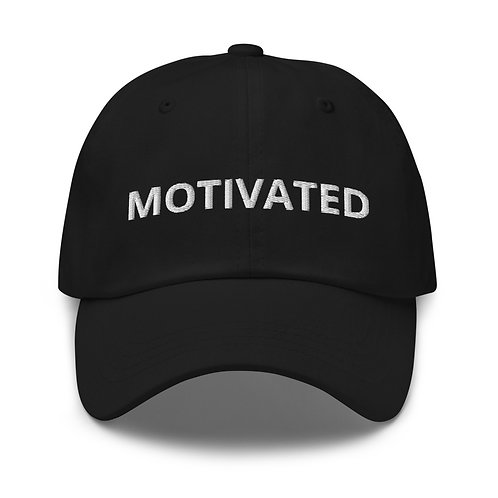 MOTIVATED x  Embroidery Dad Hat